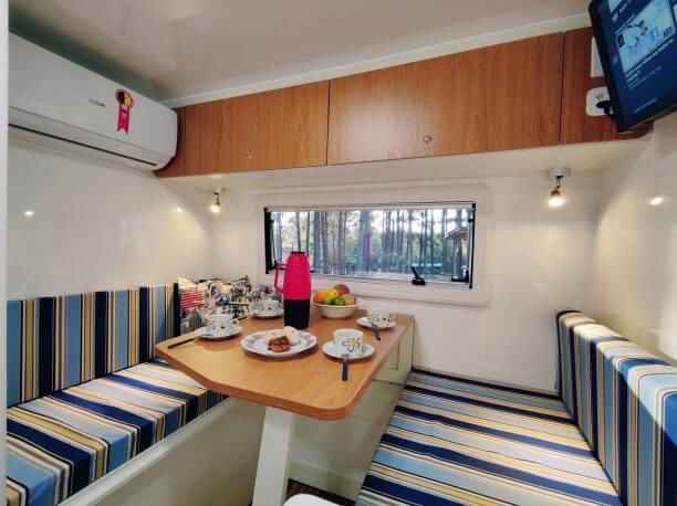 cozinha do trailer